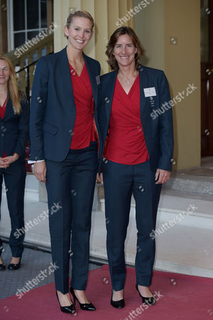 Stock Image of Victoria Thornley and Dr Katherine Grainger