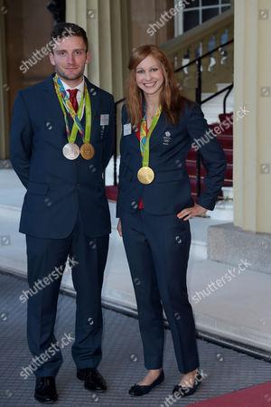 Callum Skinner and Joanna Rowsell