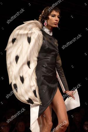 Stock Photo of Alice Metza on the catwalk