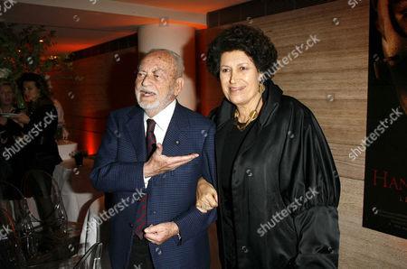 Dino De Laurentiis and Carla Fendi