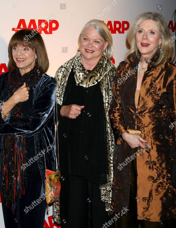 Valerie Harper, Louise Fletcher and Blythe Danner