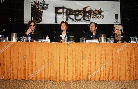 Ozzy Osbourne, Sharon Osbourne, Bruce Eskowitz and Marsha Vlasic