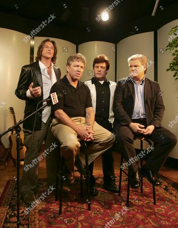DEAN/RAYBON/CURTIS/SCAGGS Country music performers from left, Billy Dean, Marty Raybon, Marty Curtis, and Ricky Scaggs are shown at a news conference in Hendersonville, Tenn., where they and others are launching''Your Country Your Vote,'' a project organizers describe as a nonpartisan get-out-the-vote campaign
