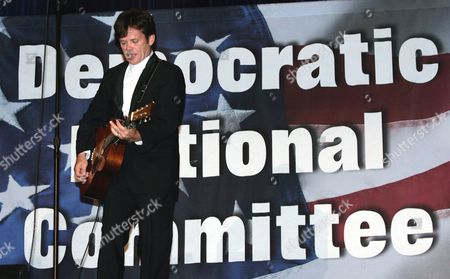 MELLENCAMP Musician John Cougar Mellencamp performs at a party for Sen. John Edwards, D-N.C., at the Wang Theater in Boston, on . Edwards had just completed his address to the 2004 Democratic National Convention