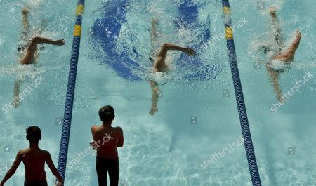 Editorial photo of DISNEYLAND OLYMPIANS, ANAHEIM, USA