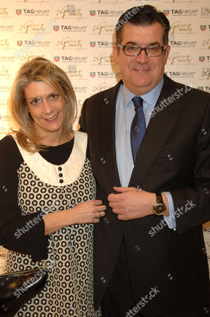 Jean - Marc Lacave and and wife