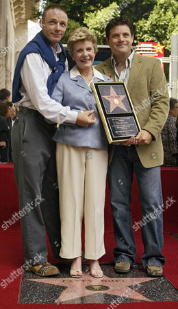 ASTIN DUKE ASTIN Academy Award winner, and television actress Patty Duke poses with her sons, actors Mackenzie Astin, left, and Sean Astin, right, after being honored with a star on the Hollywood Walk of Fame, in the Hollywood section of Los Angeles