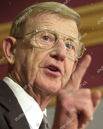 LOU HOLTZ University of South Carolina football coach Lou Holtz gestures as he talks about his coaching career as he annouced his retirement during a news conference, at Williams-Brice Stadium in Columbia, S.C. He won a national championship as Coach of Notre Dame in 1988