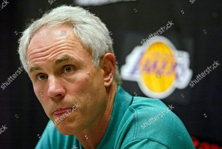 KUPCHAK Los Angeles Lakers general manager Mitch Kupchak is questioned by the members of the media Wednesday, July, 14, 2004, on the decision to trade Lakers all-star center Shaquille O'Neal to the Miami Heat on Wednesday in exchange for Lamar Odom, Caron Butler, Brian Grant and a future first-round draft pick, during a news conference at the Lakers training facility in El Segundo, Calif