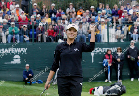 HEE-WON HAN Hee-Won Han reacts to winning the Safeway Classic Tournament, in Portland, Ore. Hee-Won Han won with a 4 foot birdie putt during a playoff with Lorie Kane