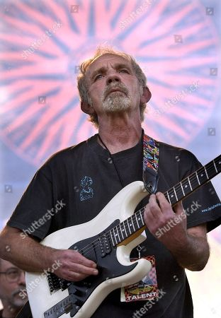 """Stock Picture of J. J. CALE Singer-songwriter J.J. Cale plays during the Eric Clapton Crossroads Guitar Festival in Dallas, Texas. Cale's best-known songs became hits for Eric Clapton with """"After Midnight"""" and Lynyrd Skynyrd with """"Call Me the Breeze."""" Clapton says singer-songwriter JJ Cale rescued him and gave him a direction. Cale's music continues to inspire and push Clapton in powerful ways, something Clapton marks with the release this week of """"The Breeze: An Appreciation of JJ Cale,"""" a 16-track thesis study in Cale's career. Cale died of a heart attack on July 26, 2013"""