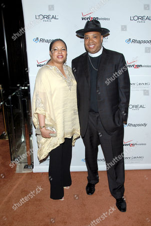 Joseph Simmons aka Reverend Run and wife Justine Simmons