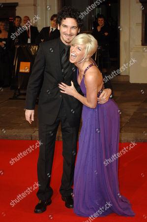 Sarah Harding and Joe Mott