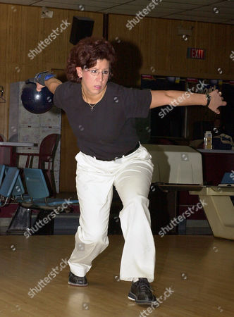 JOHNSON Liz Johnson of Cheektowaga, N.Y. bowls a practice frame prior to league-play at the Ideal Bowling Center in Buffalo, N.Y. on