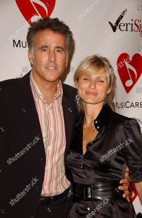 Christopher Lawford and Lana Antonova