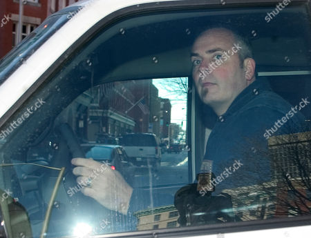 HATCH First Survivor winner Richard Hatch, drives away after leaving out the back door of federal court where he was released on $50,000 bond on charges of filing false income tax returns for 2000 and 2001, in Providence, R.I. Hatch allegedly failed to report $1,000,000 in winnings from the television show and $321,000 from work at a Boston radio program
