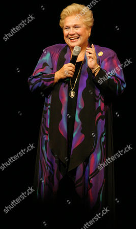 """Marilyn Horne performs at """"A Tribute to Tony Randall"""" at New York's Majestic Theatre . The event paid tribute to the actor and Broadway producer, who died last May"""