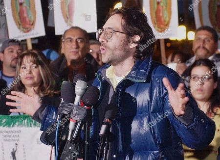Dov Charney Dov Charney, senior partner of American Apparel, announces he will shutter his garment manufacturing plant that employs some 1,500 workers, in observance of a scheduled Dec. 12 economic strike by Latinos, at a rally at Los Angeles' downtown Plaza. As of, the ousted CEO has increased his stake in the clothing chain to nearly 43 percent as he fights to keep control of the company he founded. Previously, his stake was 27 percent