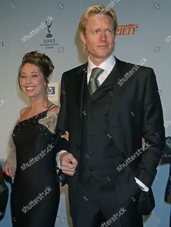 MYGIND Danish actor Peter Mygind and Sophie Grabol arrive at the 31st Annual International Emmy Awards in New York
