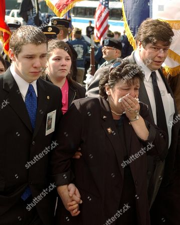 BROWN FILE ** The family of Army Pfc. Nathan Brown, from left, brother Christopher L. Brown, mother Kathy Brown, and father Ricky L. Brown walk into St. Alphonsus Roman Catholic Church in Glens Falls, N.Y., for the soldier's funeral service on . Brown was killed April 11, 2004, in Samarra, Iraq., when a rocket-propelled grenade, or RPG, struck their diesel truck. Fellow serviceman Troy Mechanick, wounded in the same attack, said that traveling in a slow-moving five-ton diesel truck on April 11 was ''a bad tactical decision'' in light of prior intelligence reports in the Samarra area