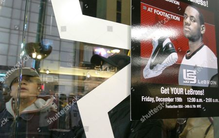 Editorial picture of LEBRONS SHOE, NEW YORK, USA