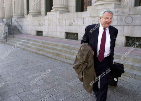 WELCH JOHNSON POUND Canadian Dick Pound, an International Olympic Committee member since 1978, leaves U.S. federal court, in Salt Lake City. Former Salt Lake bid committee leaders Tom Welch and Dave Johnson are charged with 15 counts in the bribery case