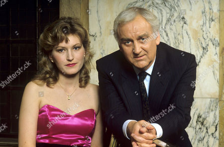 Amanda Hillwood and John Thaw in 'Inspector Morse' - 1980's
