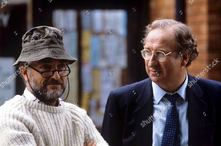 Christopher Benjamin (right) and Paul Freeman in 'The Index Has Gone Fishing' - 1987