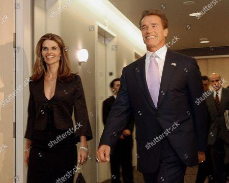 Editorial picture of Schwarzenegger Book, SACRAMENTO, USA