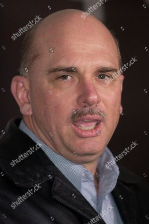 Stock Photo of MEYERS Bob Meyers, brother of sniper victim Dean Meyers, speaks to the press after the conviction of sniper Lee Boyd Malvo in Chesapeake Circuit Court in Chesapeake, Va., . The jury convicted Malvo on all three counts including two counts of capitol murder