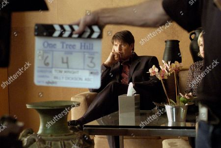 "Stock Picture of JOHANSSON Actor Paul Johansson waits to start a scene, in the new WB series ""One Tree Hill"" being filmed on the Screen Gems lot in Wilmington, N.C"