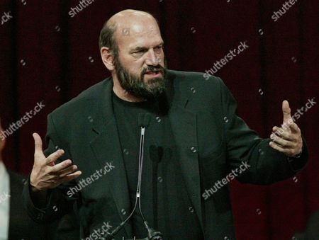VENTURA Former Minnesota Governor Jesse Ventura makes his acceptance speech after being inducted into the World Wrestling Entertainment Hall of Fame, in New York, early Sunday, March14, 2004