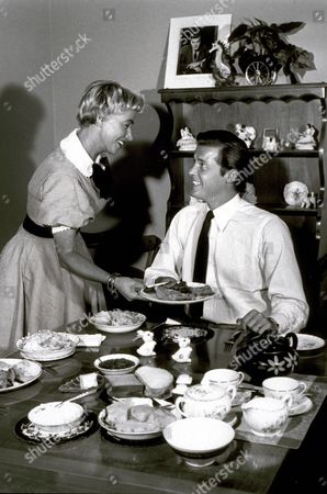 ROGER MOORE AND DOROTHY SQUIRES