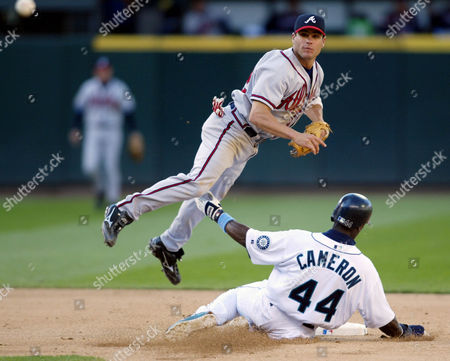 Editorial image of BRAVES MARINERS, SEATTLE, USA
