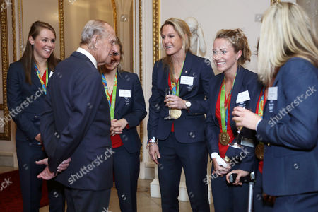 Editorial picture of Team GB and ParalympicsGB Olympic medallists reception, Buckingham Palace, London, UK - 18 Oct 2016