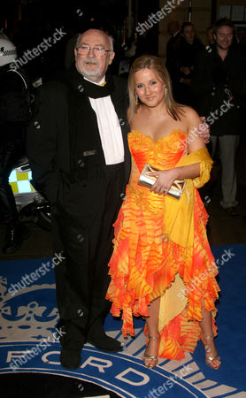 Edward Woodward with daughter