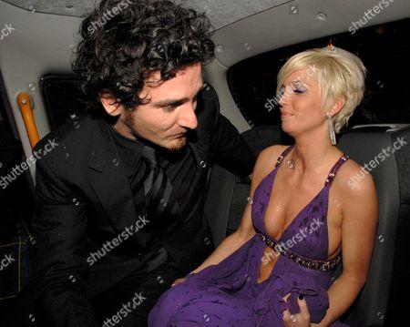 Sarah Harding and boyfriend Joe Mott