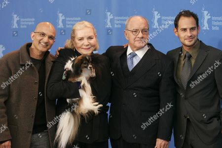 Paul Schrader, Lauren Bacall, Moritz Bleibtreu and Deepak Nayar