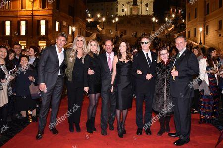 Roberto Farnesi, Tiziana Rocca, Paula Peck, Anthony Peck, Cecilia Peck, Daniel Voll