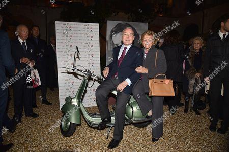 Gianni Letta and Maddalena