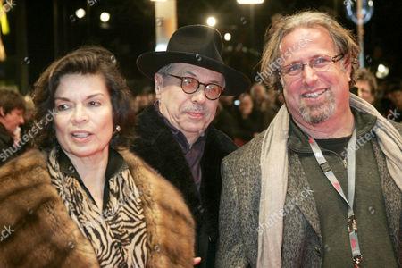 Bianca Jagger, Dieter Kosslick and Udi Aloni