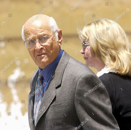 """LEAR DAVIS Producer Norman Lear arrives with his wife Lyn Davis at a memorial service for actor Gregory Peck, at the Cathedral of Our Lady of the Angels in Los Angeles. Peck, 87, died Thursday, June 12. The lanky, handsome movie star won the best-actor Oscar for playing the noble Atticus Finch in 1962's """"To Kill a Mockingbird"""" and also appeared in """"Twelve O'Clock High,"""" """"The Boys From Brazil,"""" """"Gentleman's Agreement"""" and """"Moby Dick"""