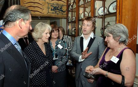 Editorial image of Reception for School Cooks at Clarence House, London, Britain - 15 Feb 2007