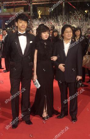 Jung Ji-hoon, Lim Soo-jung and Park Chan-wook