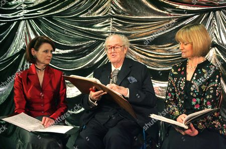 Gabrielle Drake, John Mortimer and Joanna David