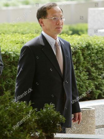 LEE Lee Soo-hyuk, South Korea's assistant foreign minister, arrives at the State Department for talks with Japanese and U.S. officials regarding North Korea in Washington . U.S., Japanese and South Korean officials are meeting Wednesday to forge a united front demanding North Korea dismantle its nuclear weapons program