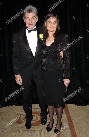 Richard Benjamin and wife Paula Prentice