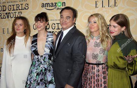 Grace Gummer, Erin Darke, James Belushi, Anna Camp, Genevieve Angel