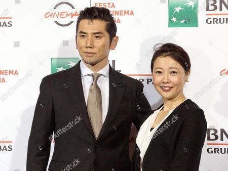 Masahiro Motoki and Miwa Nishikawa