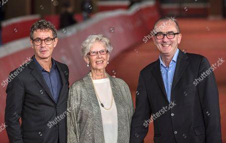 Francesco Patierno, Maureen Lewis and Julien Evans